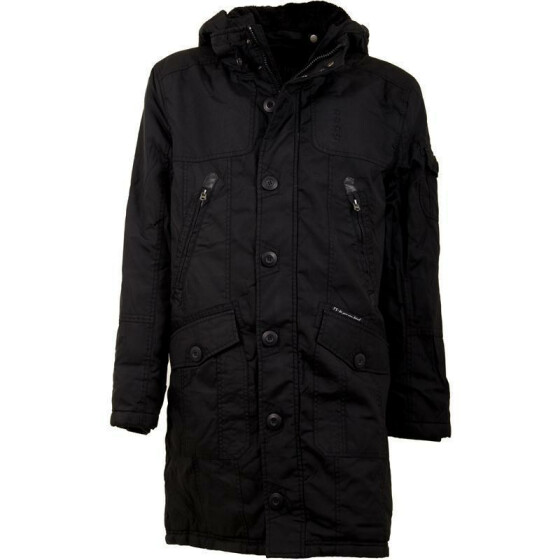 FREE SPIRIT KAMILLO Jacket, gewachst, black
