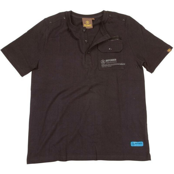 DEFENDER TANKER SHIRT, black XL