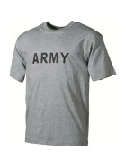 MFH T-Shirt, ARMY, grey XXL