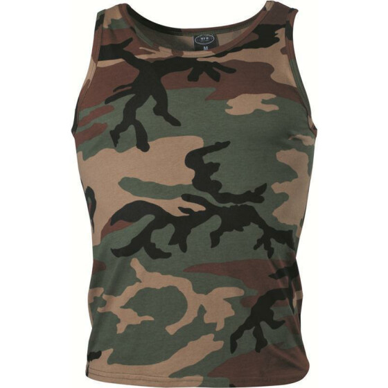 MFH US Tank-Top, woodland S