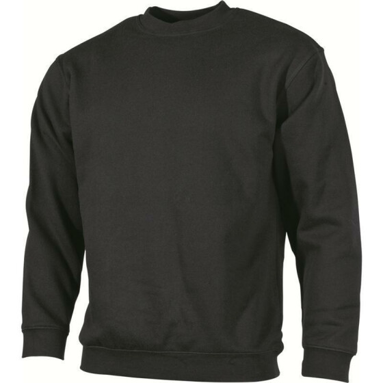 MFH Sweat-Shirt, Rundkragen, black 3XL