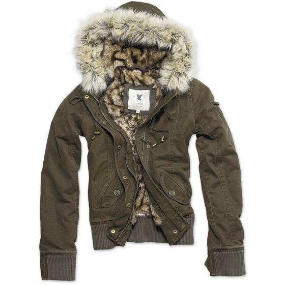 SURPLUS Ladies Blouson, brown L