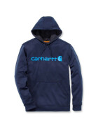 CARHARTT Force Ext.Logo Hooded Sweatshirt, navy