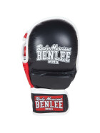 BENLEE Leather MMA Sparring Gloves STRIKER, black