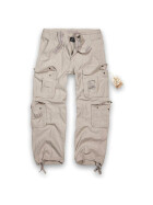 BRANDIT Pure Vintage Trouser, old white 4XL