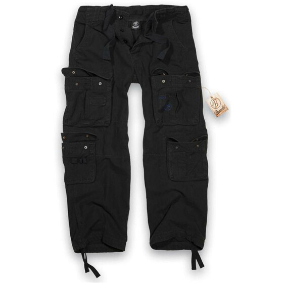 BRANDIT Pure Vintage Trouser, black 4XL