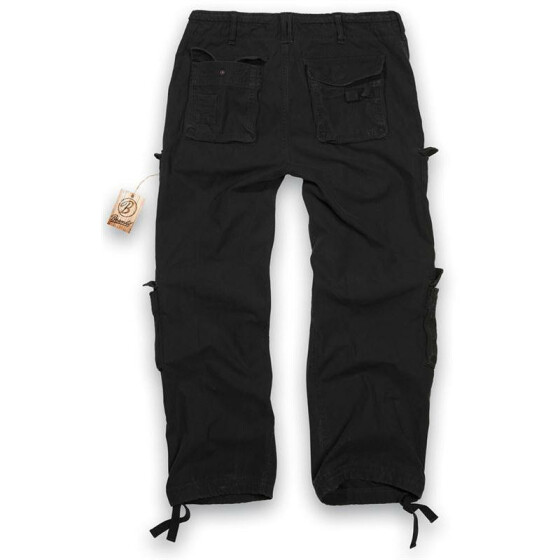 BRANDIT Pure Vintage Trouser, black 7XL