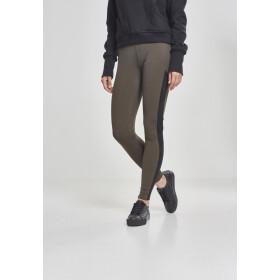 9340841555ee0 Urban Classics Ladies Jacquard Camo Striped Leggings,.