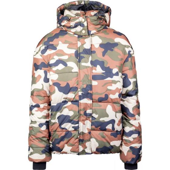 Urban Classics Ladies Boyfriend Camo Puffer Jacket 0ecf5d3f806