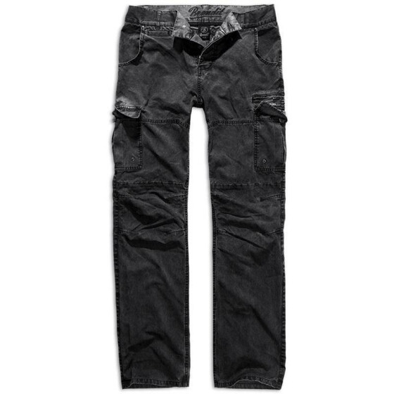 BRANDIT Rocky Star Pants, light black S