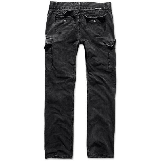 BRANDIT Rocky Star Pants, light black M