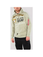Alpha Industries Squad Hoody, light olive
