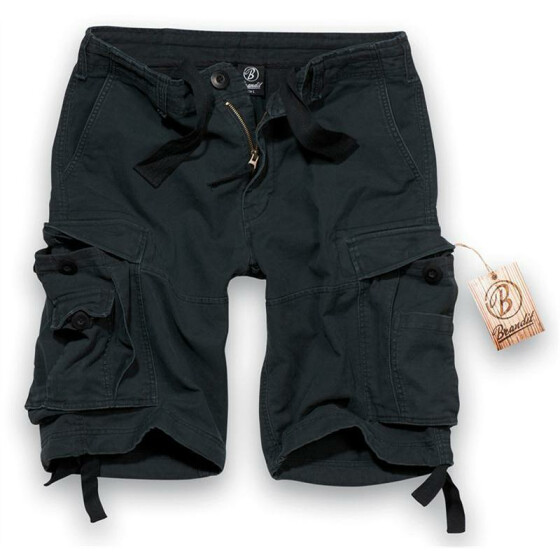 BRANDIT Army Vintage Shorts, black S