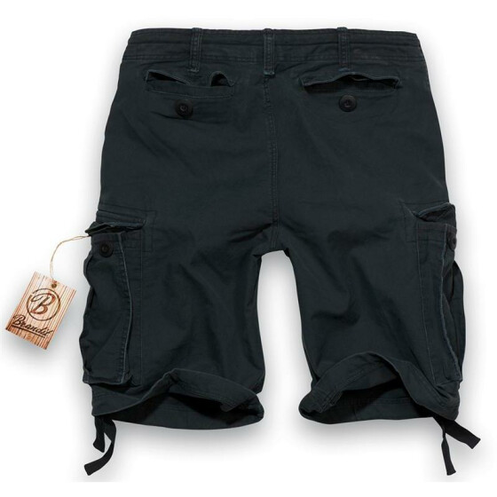 BRANDIT Army Vintage Shorts, black L