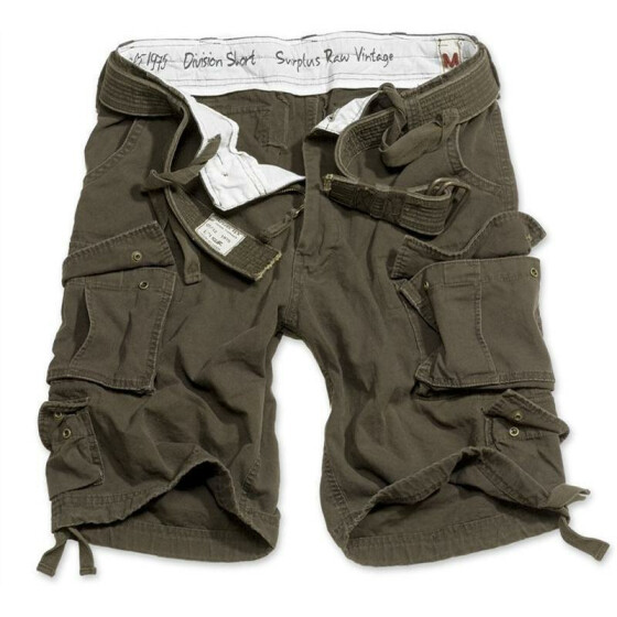 SURPLUS Division Short, brown XL - 98 cm