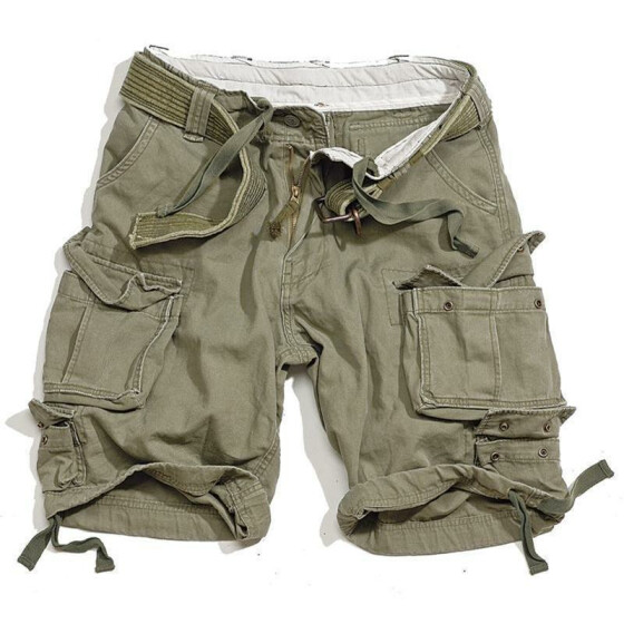 SURPLUS Division Short, oliv M - 88 cm