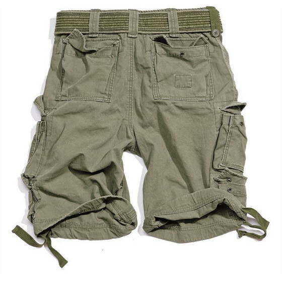 SURPLUS Division Short, oliv 4XL - 112 cm