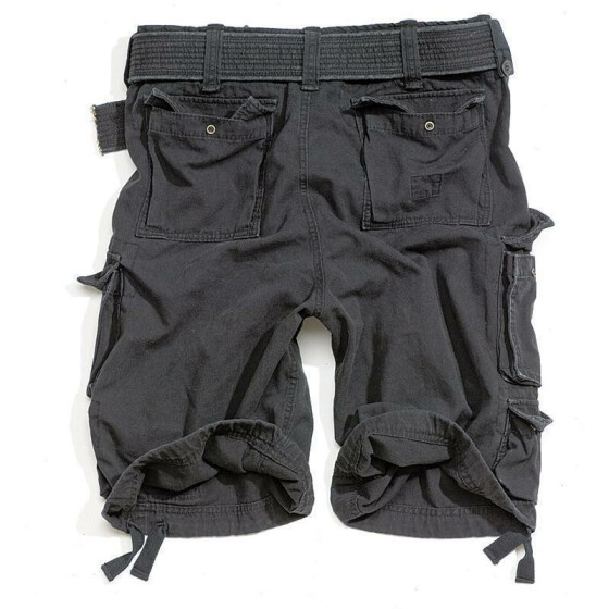 SURPLUS Division Short, black 4XL - 112 cm
