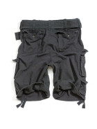 SURPLUS Division Short, black 7XL - 128 cm