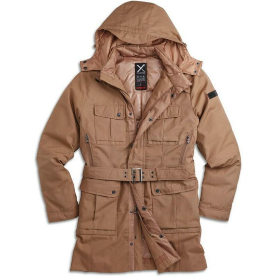 SURPLUS XYLONTUM WINTER COAT, khaki
