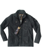 FREE SPIRIT SOLTAN Jacket, gewachst, black 3XL