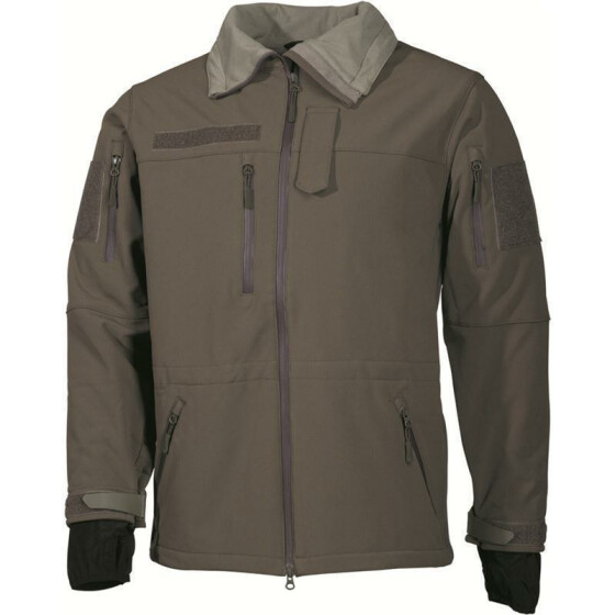MFH Soft Shell Jacke High Defence, oliv 3XL