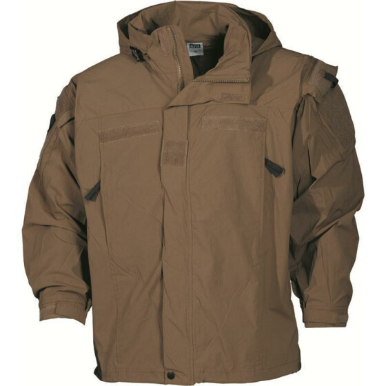 MFH US Soft Shell Jacke Level 5, khaki L