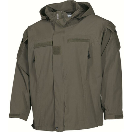 MFH US Soft Shell Jacke Level 5, oliv M