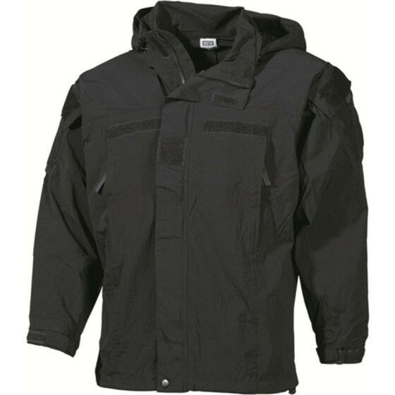 MFH US Soft Shell Jacke Level 5, schwarz L