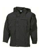 MFH US Soft Shell Jacke Level 5, schwarz XL