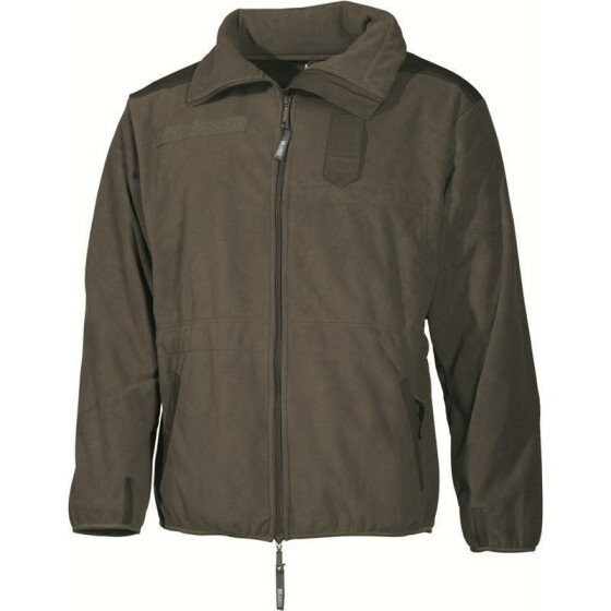 MFH Fleece-Jacke Alpin, oliv 3XL