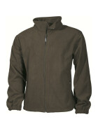 MFH Fleece-Jacke Mountain, oliv