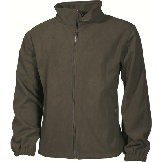 MFH Fleece-Jacke Mountain, oliv XL