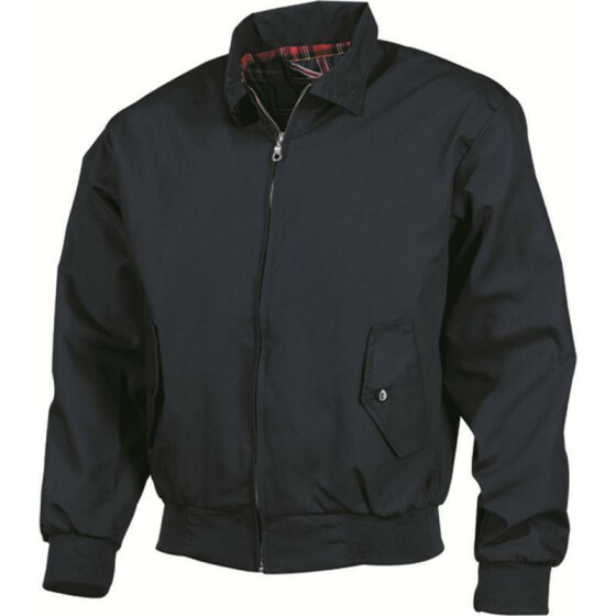 MFH Jacke English Style Harrington, blau M