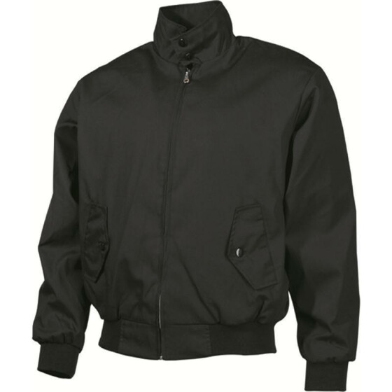 MFH Jacke English Style Harrington, schwarz L