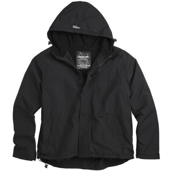 SURPLUS Windbreaker Zipper, schwarz 3XL