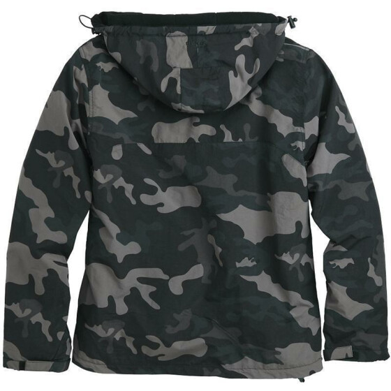 SURPLUS Windbreaker Zipper, blackcamo M
