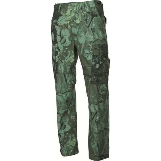 MFH US Kampfhose BDU, Rip Stop, hunter green 8 / 50 / (36/32) / L