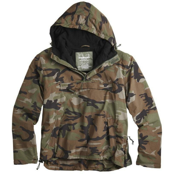 SURPLUS Windbreaker, woodland L