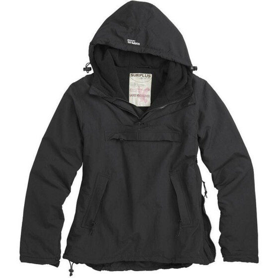 SURPLUS Ladies Windbreaker, black XL