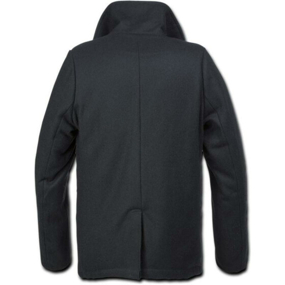 BRANDIT Pea Coat, black XXL