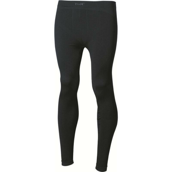 MFH Thermo-Sport-Funktions- Unterhose, lang, schwarz L
