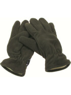 MFH Fleece-Fingerhandschuhe, Thinsulatefütterung, oliv S