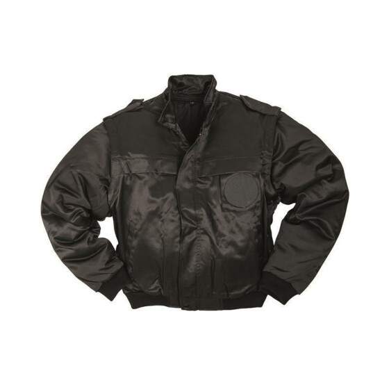 MILTEC SECURITY Blouson, schwarz M