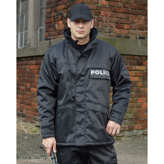 MILTEC Parka SECURITY, schwarz XXL
