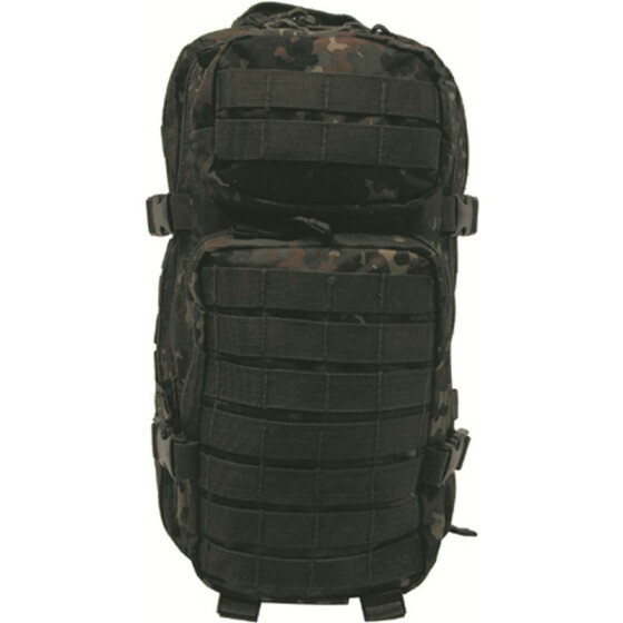 MFH US Rucksack, Assault I, flecktarn