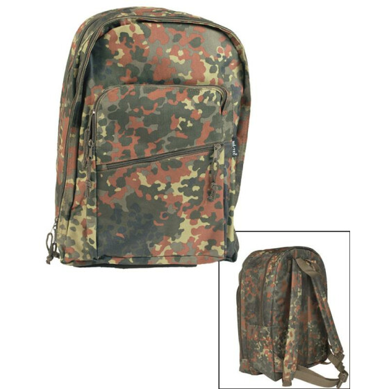 MILTEC Day Pack PES, 25 L, flecktarn