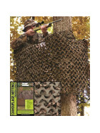 MILTEC Tarnnetz BASIC LIGHT, 1.4 X 3.0 m, woodland