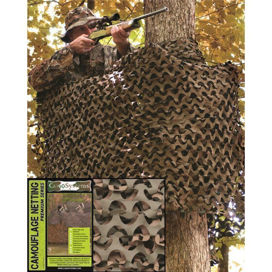 MILTEC Tarnnetz BASIC LIGHT, 2.4 X 3.0 m, woodland