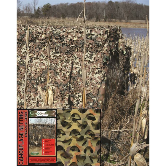 MILTEC Tarnnetz BASIC LIGHT, 1.1 X 3.0 m, flecktarn